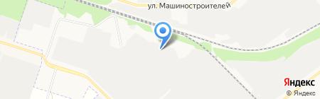 АВВИ на карте Йошкар-Олы