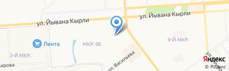 Детский сад №1 на карте Йошкар-Олы