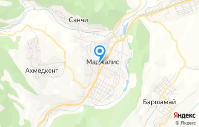 Местоположение на карте пункта техосмотра по адресу Респ Дагестан, с Маджалис