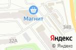 Схема проезда до компании Белая Птица в Йошкар-Оле