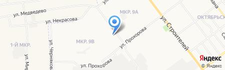 Бигуди на карте Йошкар-Олы