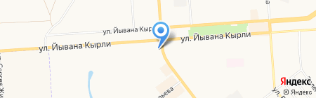 Легко деньги на карте Йошкар-Олы