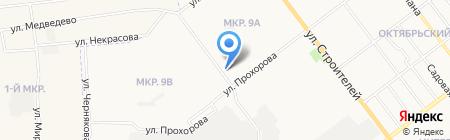 Детская поликлиника №4 на карте Йошкар-Олы
