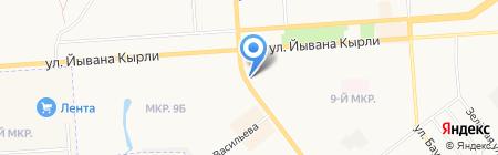 Наш экспресс на карте Йошкар-Олы