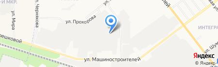 УАЗ-автоцентр на карте Йошкар-Олы
