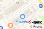 Схема проезда до компании Магазин тканей и текстиля в Йошкар-Оле