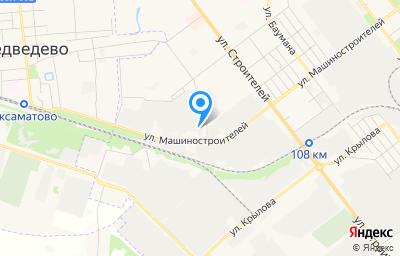Местоположение на карте пункта техосмотра по адресу г Йошкар-Ола, ул Машиностроителей, д 112А