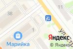 Схема проезда до компании Киоск по продаже цветов в Йошкар-Оле