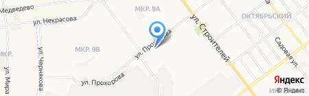 Автомоечка на карте Йошкар-Олы