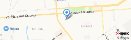 Детский сад №67 Колокольчик на карте Йошкар-Олы