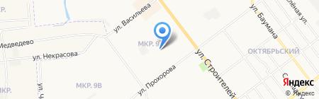 Детский сад №25 на карте Йошкар-Олы