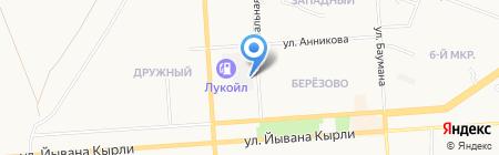 Колёса Даром на карте Йошкар-Олы