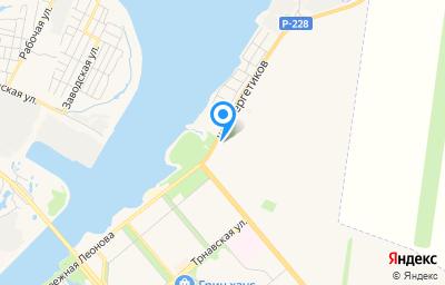 Местоположение на карте пункта техосмотра по адресу Саратовская обл, г Балаково, шоссе Энергетиков, д 1А