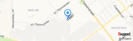 ТЕХНО-ГРУПП на карте Йошкар-Олы