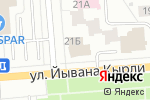 Схема проезда до компании Ультра свет в Йошкар-Оле