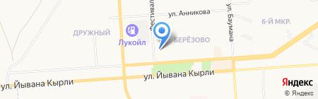Лукойл-Гарант на карте Йошкар-Олы