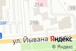 Схема проезда до компании Кухни и кухоньки в Йошкар-Оле