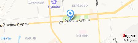Мобильные ТелеСистемы на карте Йошкар-Олы