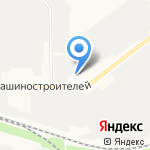 Джин-Авто на карте Йошкар-Олы