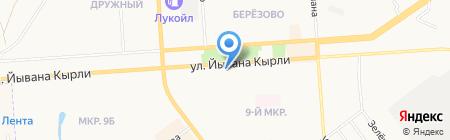 Магазин мужской одежды на карте Йошкар-Олы