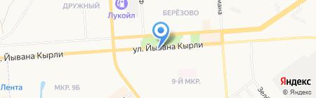 Быстроденьги на карте Йошкар-Олы