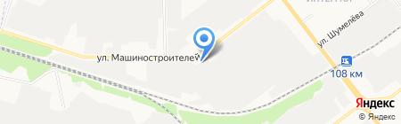Марийский сельский строительный комбинат на карте Йошкар-Олы