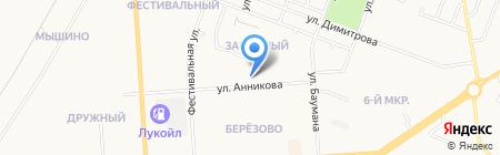Максимус на карте Йошкар-Олы
