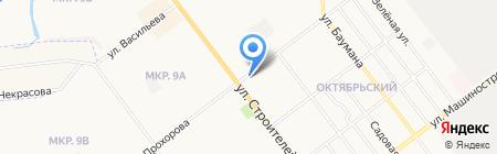 Политехник на карте Йошкар-Олы