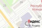 Схема проезда до компании Новосёл в Йошкар-Оле