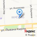 Библиотека №28 на карте Йошкар-Олы