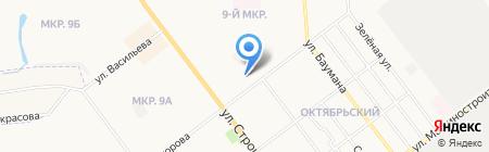 Мастерская по ремонту одежды на ул. Прохорова на карте Йошкар-Олы