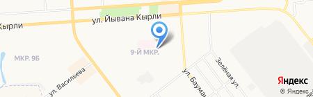 Виолла на карте Йошкар-Олы