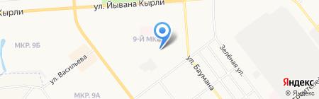 Детский сад №65 Незабудка на карте Йошкар-Олы