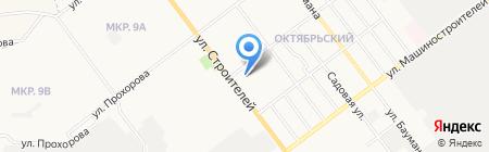 Фортуна на карте Йошкар-Олы