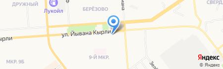Зоосфера на карте Йошкар-Олы