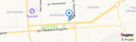 ТиЛэнд на карте Йошкар-Олы