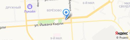 Centro на карте Йошкар-Олы