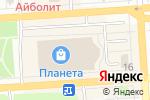 Схема проезда до компании ZEBRA в Йошкар-Оле