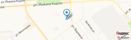 Родничок на карте Йошкар-Олы