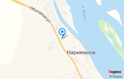 Местоположение на карте пункта техосмотра по адресу Астраханская обл, г Нариманов, ул Волгоградская, д 28, пом 1