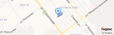 Детская школа искусств №6 на карте Йошкар-Олы
