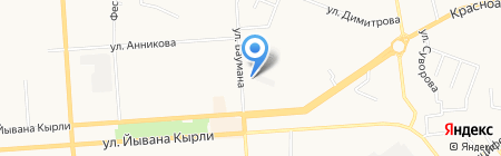 Ниагара на карте Йошкар-Олы