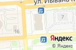 Схема проезда до компании Люстры12 в Йошкар-Оле