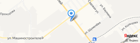 Торгово-технологический колледж на карте Йошкар-Олы