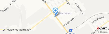 Столичный на карте Йошкар-Олы