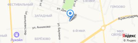 Газтеплотехника на карте Йошкар-Олы