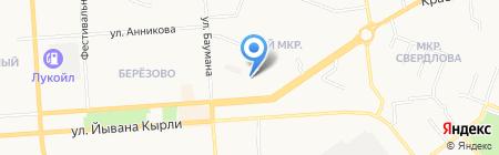 Торговое оборудование предприятий на карте Йошкар-Олы