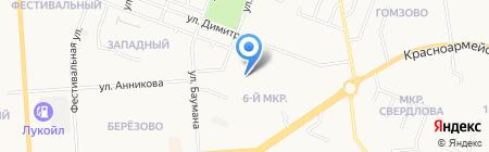 Детский сад №17 на карте Йошкар-Олы