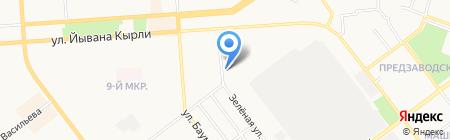 Йошкар-Олинский городской отдел судебных приставов на карте Йошкар-Олы