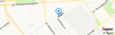 ИНСТРУМЕНТСЕРВИС на карте Йошкар-Олы